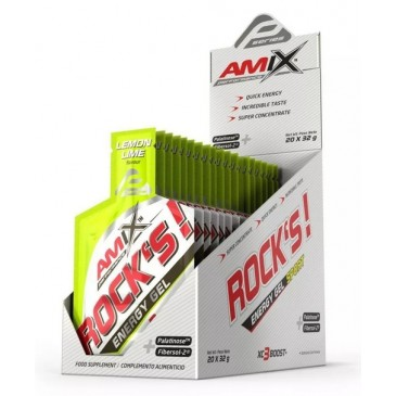 Amix Rock\'s Energy Gel 20x 32g