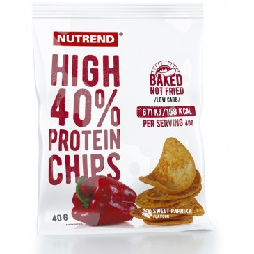 Nutrend High Protein Chips expirace do 03.2018
