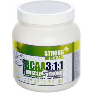 StrongNutritions BCAA 3:1:1 500 mg