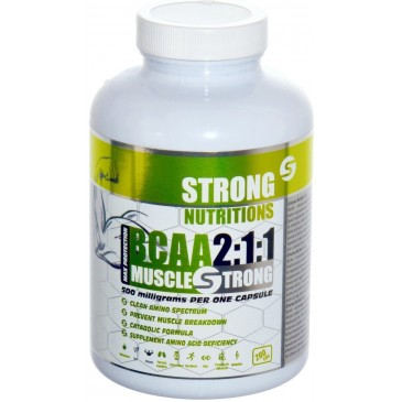 StrongNutritions BCAA 2:1:1 500 mg